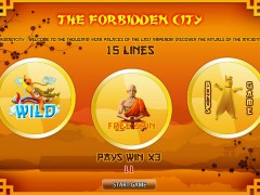 The Forbidden City - World Match