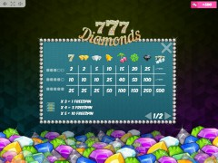 777 Diamonds sloturi77.com MrSlotty 5/5