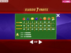 Classic7Fruits sloturi77.com MrSlotty 5/5