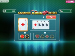 Golden Joker Dice sloturi77.com MrSlotty 3/5