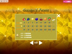 Golden7Fruits sloturi77.com MrSlotty 5/5